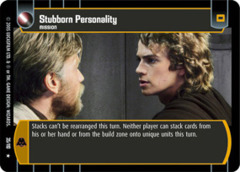 Stubborn Personality