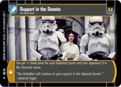Support in the Senate