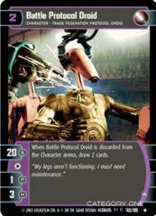Battle Protocol Droid (A) - Foil