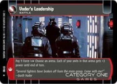 Vader's Leadership - Foil