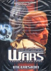 Wars TCG Incursion Suppression Starter Deck