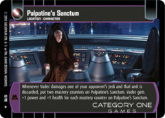 Palpatine's Sanctum - Foil