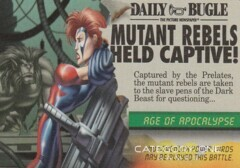 Mission: Event Age of Apocalypse: Mutant Rebels Held Captive (No TM/Date)