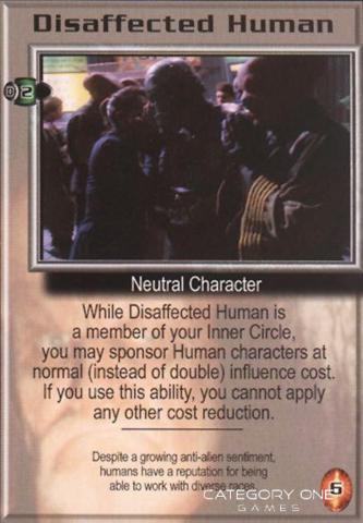 Disaffected Human