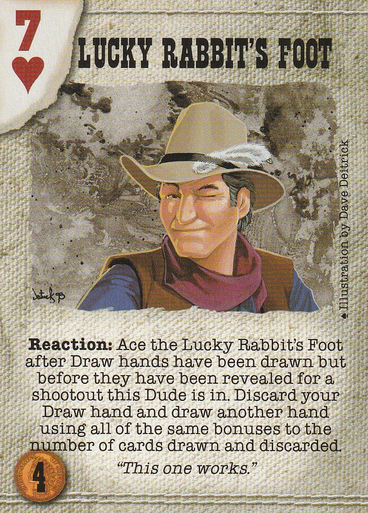 Lucky Rabbits Foot (Spade)