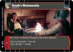 Greedo's Marksmanship