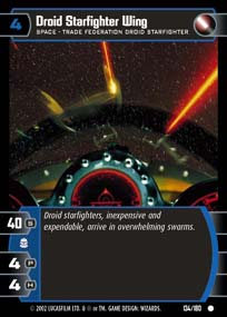 Droid Starfighter Wing - Foil