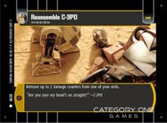 Reassemble C-3PO - Foil