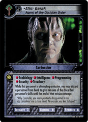 Elim Garak, Agent of the Obsidian Order - Foil