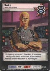Duke, First Sergeant (Foil)