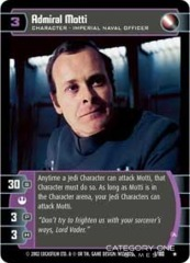Admiral Motti (A) - Foil