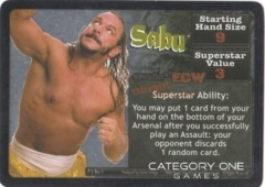 Sabu Superstar Card