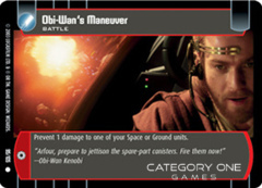 Obi-Wan's Maneuver - Foil