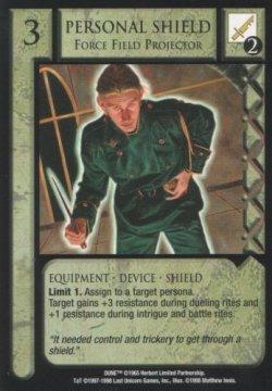Personal Shield, Force Field Projector