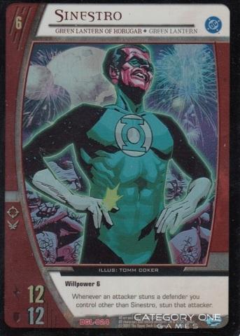 Sinestro, Green Lantern of Korugar (EA)