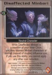 Disaffected Minbari