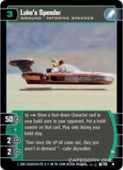 Luke's Speeder (B) - Foil
