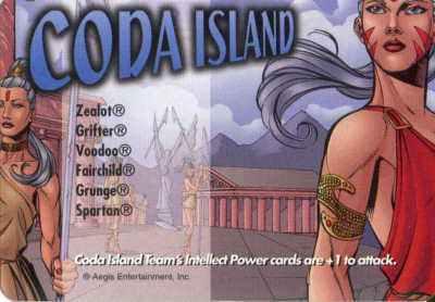 Location Coda Island