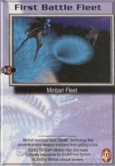 First Battle Fleet (Minbari)