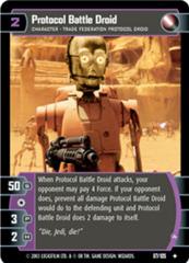 Protocol Battle Droid (A)