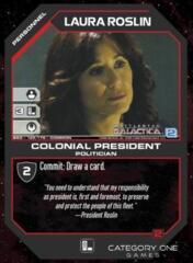 Laura Roslin Colonial President (Foil)