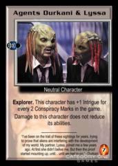 Agents Durkani & Lyssa