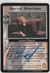Doctor Sheridan (signed by Melissa Gilbert-Boxleitner) [Wheel of Fire]