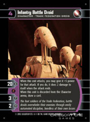 Infantry Battle Droid - Foil