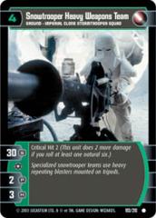 Snowtrooper Heavy Weapons Team