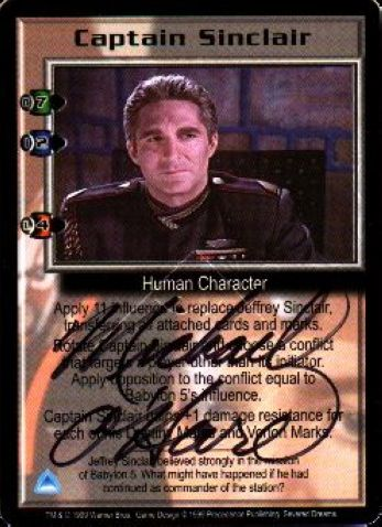 Captain Sinclair (signed by Michael OHare) [Severed Dreams]