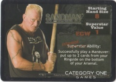 Sandman Superstar Card