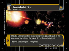Concentrated Fire - Foil