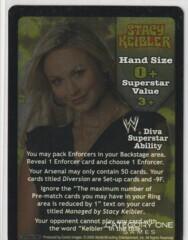 Stacy Keibler Superstar Card (SS3)