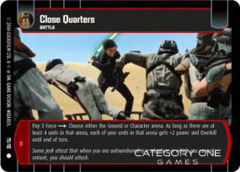 Close Quarters - Foil