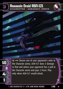 Assassin Droid ASN-121 (A) - Foil