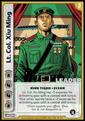 Lt Col. Xiu Ming (Foil)