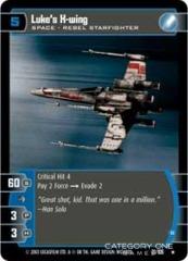 Luke's X-wing (B) - Foil