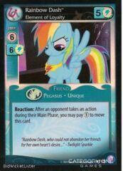 Rainbow Dash, Element of Loyalty - F12