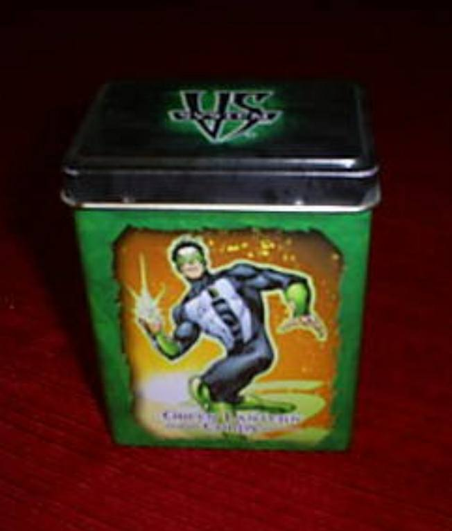 Deck Box Tin Green Lantern/Sinestro