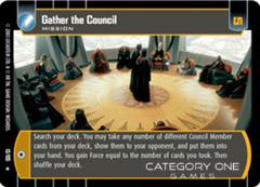 Gather the Council - Foil