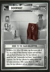 Door to the Fajo Collection Coupon