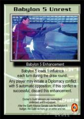 Babylon 5 Unrest
