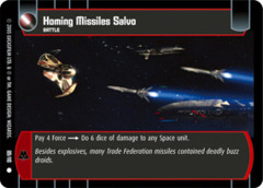 Homing Missiles Salvo
