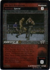 No Sell Maneuver (SS3) Foil
