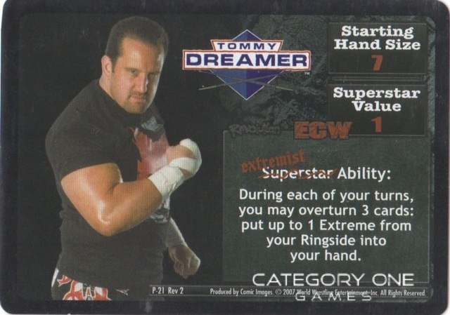 Tommy Dreamer Superstar Card
