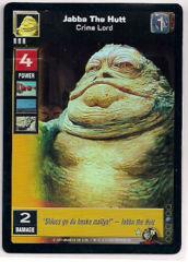 Jabba The Hutt, Crime Lord [Foil]
