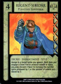 Regent-Siridar Planetary Governor