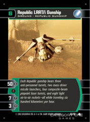 Republic LAAT/i Gunship - Foil