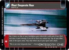 Most Desperate Hour - Foil