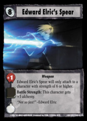 Edward Elric's Spear